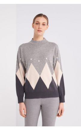 Sweter-S99092/9018I-79I