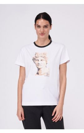 T-shirt-S06630/B0079-B01